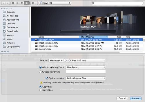 iMovie Fail: