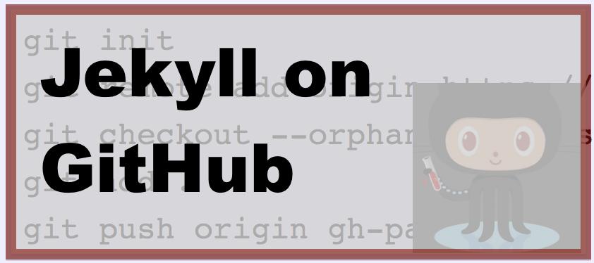 1-minute Jekyll on GitHub Pages setup